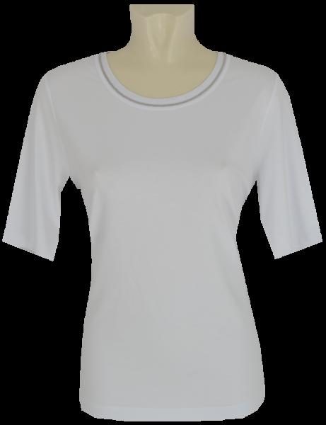 1/2 Arm T-Shirt in weiß