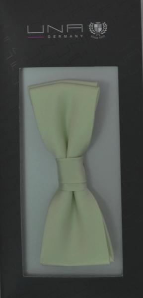 Schleife in uni weißgrün