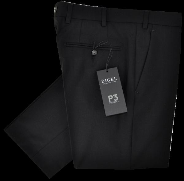 Stoffhose in schwarz